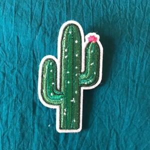 Jewelry - FREE WITH PURCHASE felt cactus pin